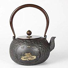 Japanische Teekanne Gusseisen Handgemachte