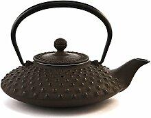 Japanische Teekanne Gusseisen Hira Arare von