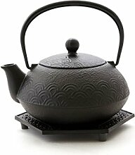 Japanische Teekanne UND Wasserkessel, Kombi-Modell