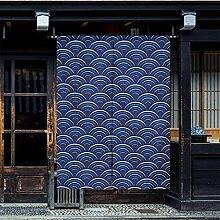Japanische Vorhänge,Kunstdruck Wohnzimmer