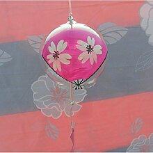 Japanische Windspiel Wind Glocken handgemachtes Glas für zu Hause oder Geschenk Geburtstag Valentinstag (on Saruka Lüfter) Einrichtungen