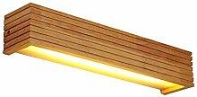 Japanischen Stil Moderne LED Lampe Buche Wandlampe