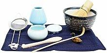 Japanisches Matcha-Teezeremonie-Set,