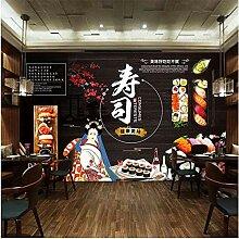 Japannese Sushi Theme Wandbild Tapete für