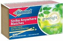 JARDEN Diamond Green Light Strike Streichhölzer