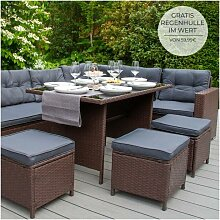 Jardí - Polyrattan Gartenmöbel Möbel Sitzgruppe