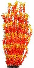 Jardin Aquarium Wassertank Pflanze Gras Ornament, orange