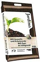 Jardino Premium Bio Anzucht und Kräutererde mit
