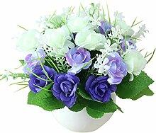 JAROWN Kunstblumen aus Seide, künstlicher Bonsai,