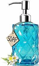 JASAI Seifenspender aus Glas für Bad und Bad