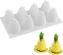 JasCherry Ananas Form Antihaft Silikon Backform