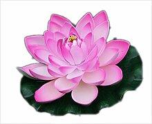 JASNO Künstliche Gefälschte Schaum Lotus Blume 1