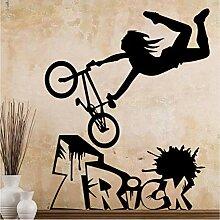 Jasonding Diy Fahrrad Aufkleber Dekoration