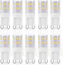 JAUHOFOGEI G9-Kapsel-LED-Leuchtmittel, 2 W, 250
