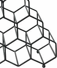 Jax Design | Weinregal Pinot Schwarz metall