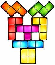 JAYLONG Tetris Block DIY Night Lamp, Creative