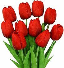 JayTop Künstliche Tulpen, Unechte Blumen Deko