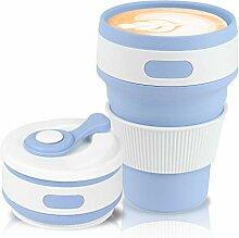 Jazz Pose Faltbarer Kaffeebecher, Kaffeetassen,