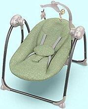 JBHURF Schaukelstuhl-Babywiege Recliner des Babys