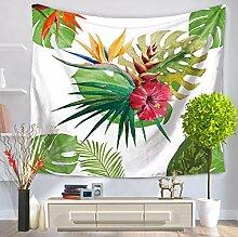 JCDZH-FT Frische Blumen hängen Wandteppiche Strandtücher, kleine Sitzecke