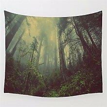 JCDZH-FT Mandala Blume Indische Druck Tapisserie Hintergrund Stoff Strand Handtuch 130 * 150cm