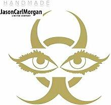 JCM ¨ Eisen auf Transfer Aufkleber, Augen Gold