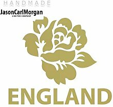 JCM ¨ Eisen auf Transfer Aufkleber, England Rugby Rose Gold