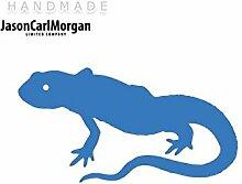 JCM ¨ Eisen auf Transfer Aufkleber, Lizard Sky Blau