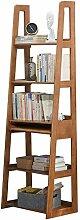 JCNFA Modernes Leiter-Bücherregal Aus Holz