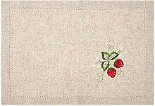 Jcnfa Tischset Polyester Stickerei Westliche Matte