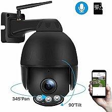 JCOJAS Babyphone 2MP drahtlose IP-Kamera 1080P