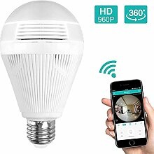 JCOJAS Babyphone Kamera Licht Lampe WiFi 960P