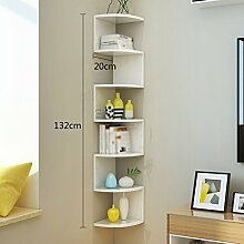 JCRNJSB® Rack, Eck Bücherregal Regal Regale