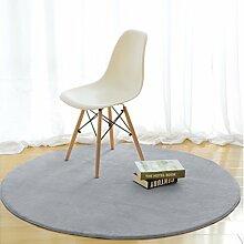 JCRNJSB® Runde Teppiche Simple Bedroom Bedside