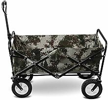 JCX Faltbarer Gartenwagen Tragbarer Festwagen für