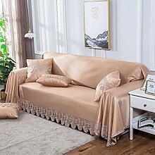 JCXT Sofa-Abdeckung Loveseat Slipcover Spitze