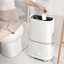 JDBDYA 21L Mülleimer Küche Abfalleimer mit