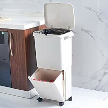 JDBDYA Küche Mülleimer Trennsystem, Abfalleimer,