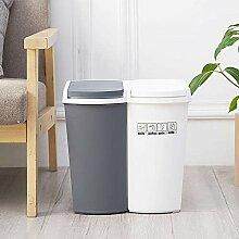 JDBDYA Mülleimer für die Küche, 23L, Mülleimer
