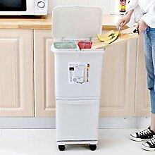 JDBDYA Mülleimer für die Küche,