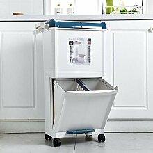 JDBDYA Mülleimer küche, Mülleimer Trennsystem