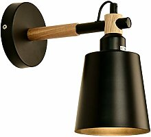 JDFM5 Eisenholz, schwarz Wandlampe Innen Design