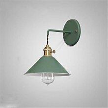 JDFM5 Farbige Regenschirmwand, grün Wandlampe