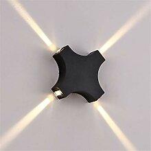 JDFM5 LED waterproof cross starlight, warm white