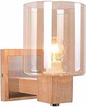 JDFM5 Transparente Glaslampe Wandlampe