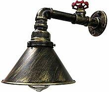 JDFM5 Wasserleitung kleine Wandleuchte Wandlampe