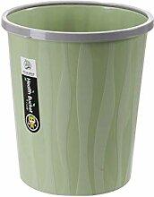 JDhfh Druckring Kunststoff-Mülleimer, ohne