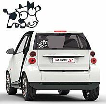 JDM Sticker Kuh Motiv Auto Tattoo Aufkleber Wakaba Tuning Carstyle Dekoration |D018