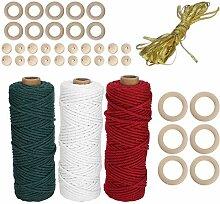 Jeanoko Weiche haltbare Baumwolle Seil Pflanze