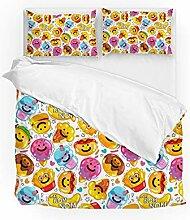 Jeansame Bettwäsche-Set, Bettbezug und